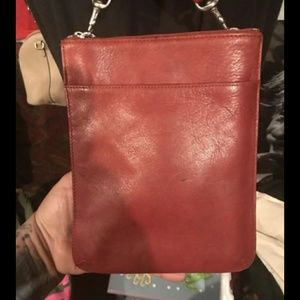 Red Coach Crossbody bag